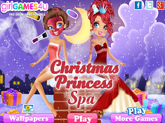 Christmas Princess Spa