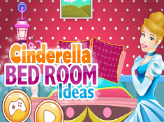 Cinderella Bed Room Ideas