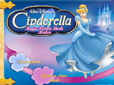Cinderella Magic Picture Book