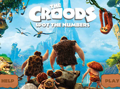 Croods Spot the Numbers