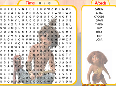 Croods Word Search