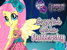 Crystal Gala Fluttershy