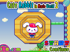Cute Rabbit in Mario World 2