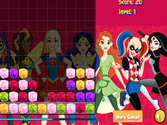 DC Superhero Girls Jelly Mix