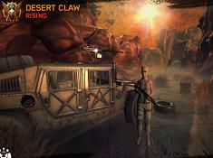 Desert Claw Rising