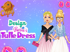 Design Barbies Tulle Dress