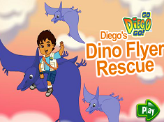 Diegos Dino Flyer Rescue