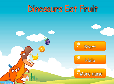 Dinosaurs Eat Fruit