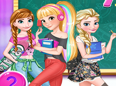 Disney Girls Back to School