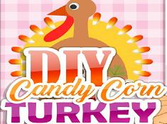 DIY Candy Corn Turkey