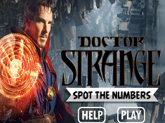 Doctor Strange Spot the Numbers