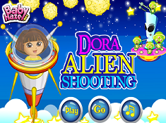 Dora Alien Shooting