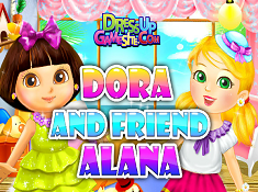 Dora and Friend Alana