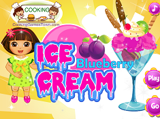 Dora Ice Blueberry Cream
