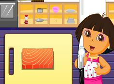 Dora Sushi Cooking