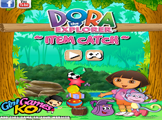 Dora the Explorer Item Catch