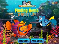Dory and Nemo Dress up
