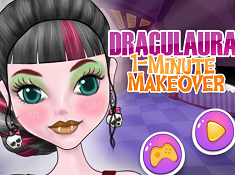 Draculaura 1 Minute Makeover