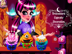 Draculaura Cupcake Decoration