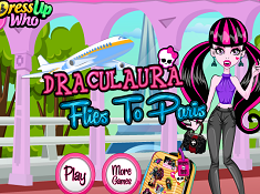 Draculaura Flies to Paris