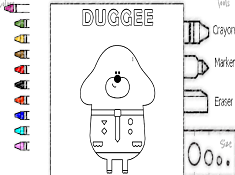 Duggee Coloring
