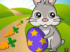 Easter Bunny Collect Carrots