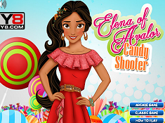 Elena of Avalor Candy Shooter