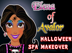 Elena of Avalor Halloween Spa Makeover