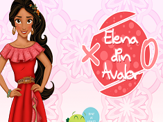 Elena of Avalor Tic Tac Toe