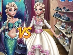 Eliza Mermaid vs Princess