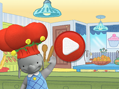 Ella the Elephant Cooking