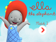 Ella the Elephant Match