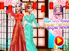 Elsa and Anna Japan Fashion Experience