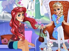 Elsa and Ariel Dreams