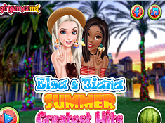Elsa and Tiana Summer Greatest Hits