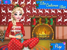 Elsa Christmas Night