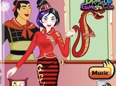 Emo Mulan Dress Up