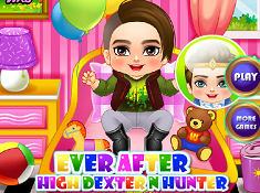 Ever After High Dexter n Hunter