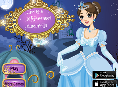 Find the Differences Cinderella