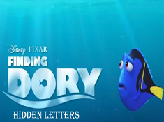 Finding Dory Hidden Letters