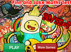 Finn and Jake Math Test