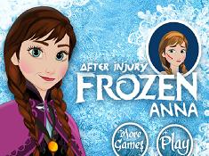 Frozen Anna After Injury