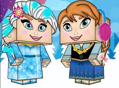 Frozen Dressup Minecraft Edition