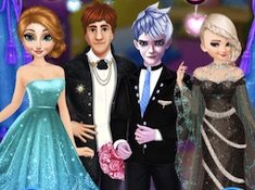 Frozen Sisters Wedding Room Design