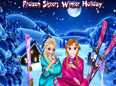 Frozen Sisters Winter