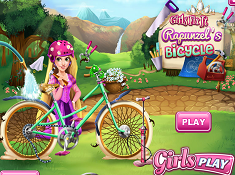 Girls Fix It Rapunzels Bicycle
