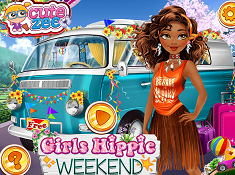 Girls Hippie Weekend