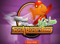 Goldfish Fun VertJam Sockboarding