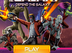 Guardians of The Galaxy Defend the Galaxy