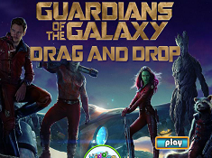 Guardians of the Galaxy Drag and Drop